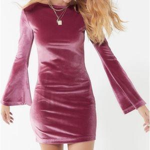Urban Outfitters Dress Bell Sleeve Belle Medium